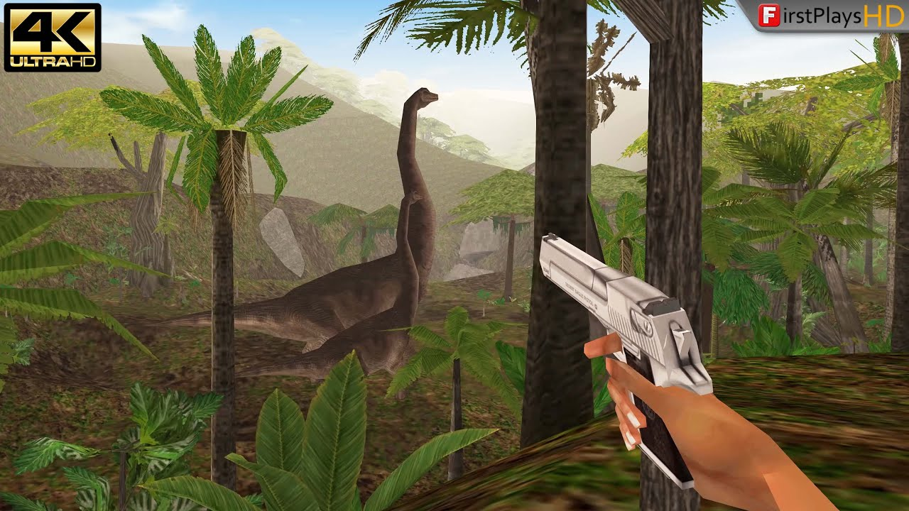 Download Trespasser (1998) - PC Gameplay 4k 2160p / Win 10