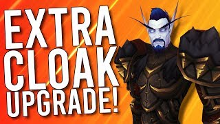 More Cloak Upgrades! Where Is Shadowlands Alpha? - WoW: Battle For Azeroth 8.3