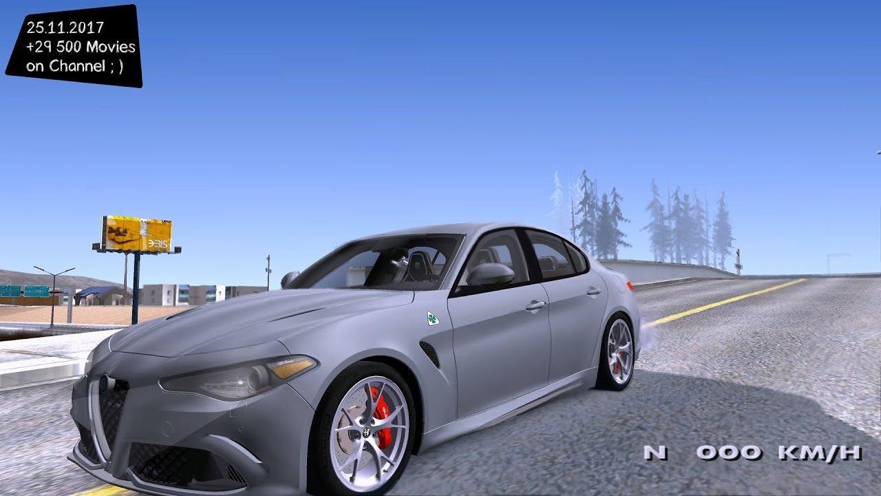 Alfa Romeo Giulia Quadrifoglio '17 Grand Theft Auto San ...
