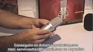 AUREAL MC33O MICRÓFONO CONDENSER MULTIPATRON, INFO POR ARTIER