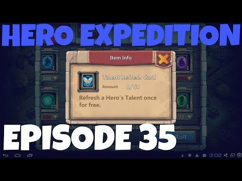 Castle Clash Episode 35: Hero Expedition + The Warehouse