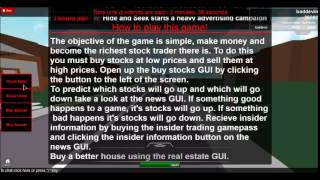 Roblox how to play stock market tycoon