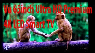 Vu 65inch Ultra HD Premium 4K LED Smart TV