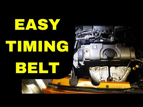 How To Replace Peugeot 1.4 Timing Belt On A 1007
