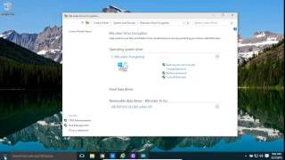 Windows 10 And 8.1 Bitlocker And Bitlocker To Go - Encrypt Your Full Computer Drives