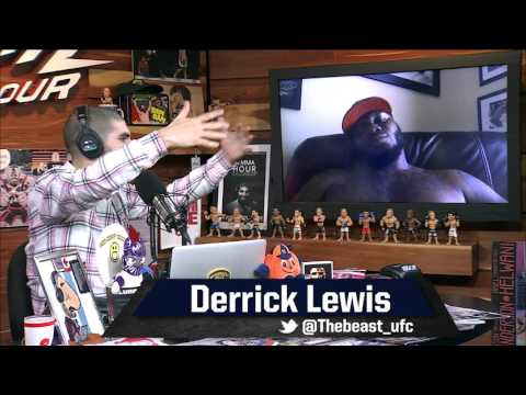 Derrick Lewis Aiming Higher than the 'Black-on-Black Crime' of a Francis Ngannou Fight