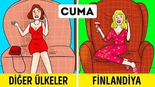 İskandinavların Dünyadaki En Mutlu İnsanlar Olmasının 7 Sebebi