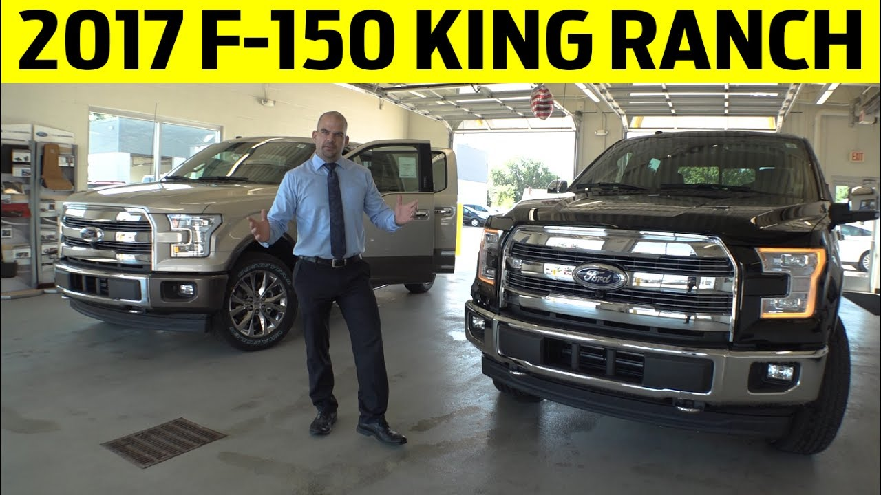 2017 Ford F 150 King Ranch Exterior Interior Walkaround Youtube