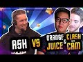 YouTuber VS YouTuber :: ASH vs ORANGE JUICE / CLASH WITH CAM :: King's Cup 2