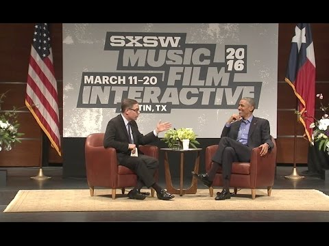 President Obama Participates In South By Southwest Interactive Discussion