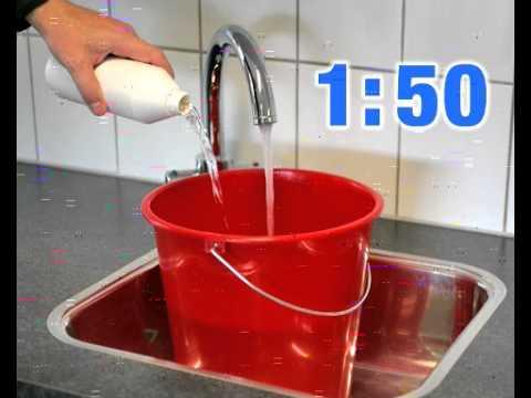 Чистящее средство для линолеума