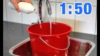 видео Чем помыть линолеум чтобы блестел