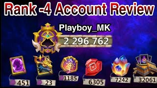 2.29 Million Account Review | 5 Dynamica 😳😳 | What an account 😎 | Might Rank-4 | Castle clash