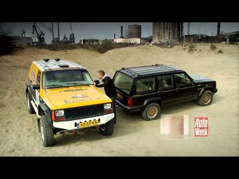 Occasionduurtester Jeep Cherokee gaat offroad