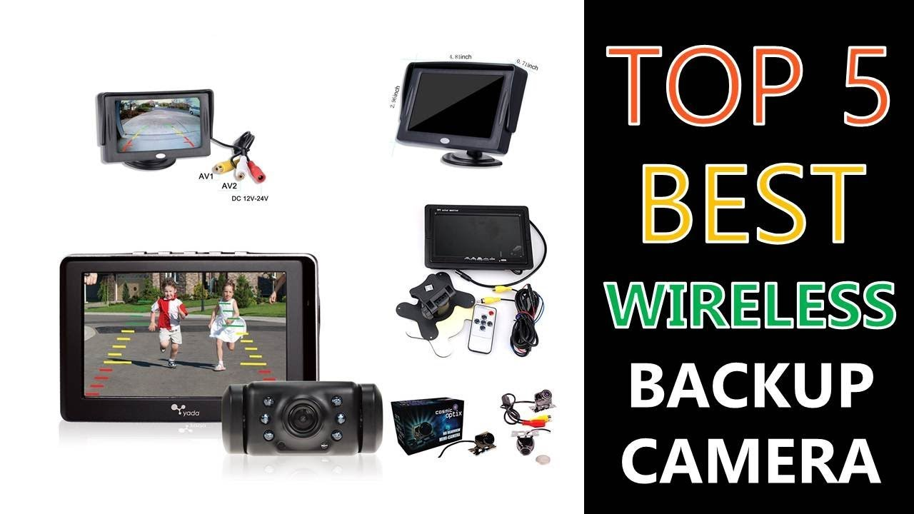 Best Wireless Backup Camera 2018 - YouTube