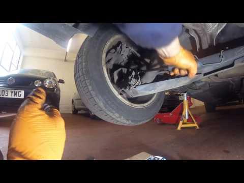 Как поменять задние пружины How to change the rear springs Renault Megane 2