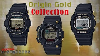 Casio G-Shock Origin Gold Collection | 150+ HD Images | Music & Images