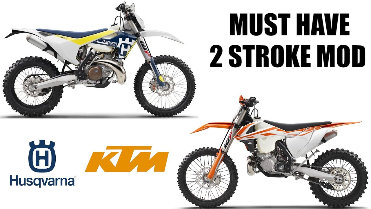 KTM and HUSQVARNA 2 stroke - MUST HAVE MOD!