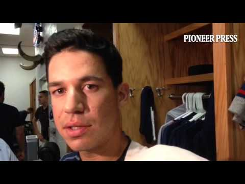 "Video 2: Tommy Milone on his duel with #Rangers LHP Wandy Rodriguez: ""We weren"