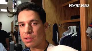 """Video 2: Tommy Milone on his duel with #Rangers LHP Wandy Rodriguez: """"We weren"""