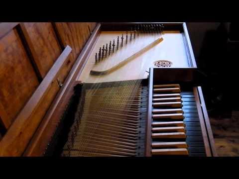 Daniel Mantey - 'Estampie'  - (THE OLDEST keyboard piece ever, ca.1360.  On clavichord.  Wild!!!)