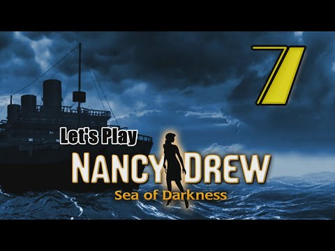 Nancy Drew 32: Sea of Darkness [07] w/YourGibs - REPAIR BOAT MOTOR RIDE SNOWMOBILE TO ICE CAVE