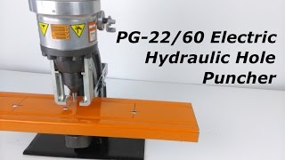 PG22/60 Electric Hydraulic Hole Puncher from Stainelec Hydraulic Equipment