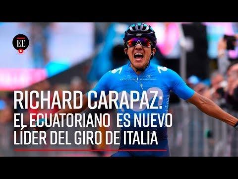 Carapaz: el nuevo líder del Giro es un ecuatoriano formado en las montañas de Colombia | Noticias