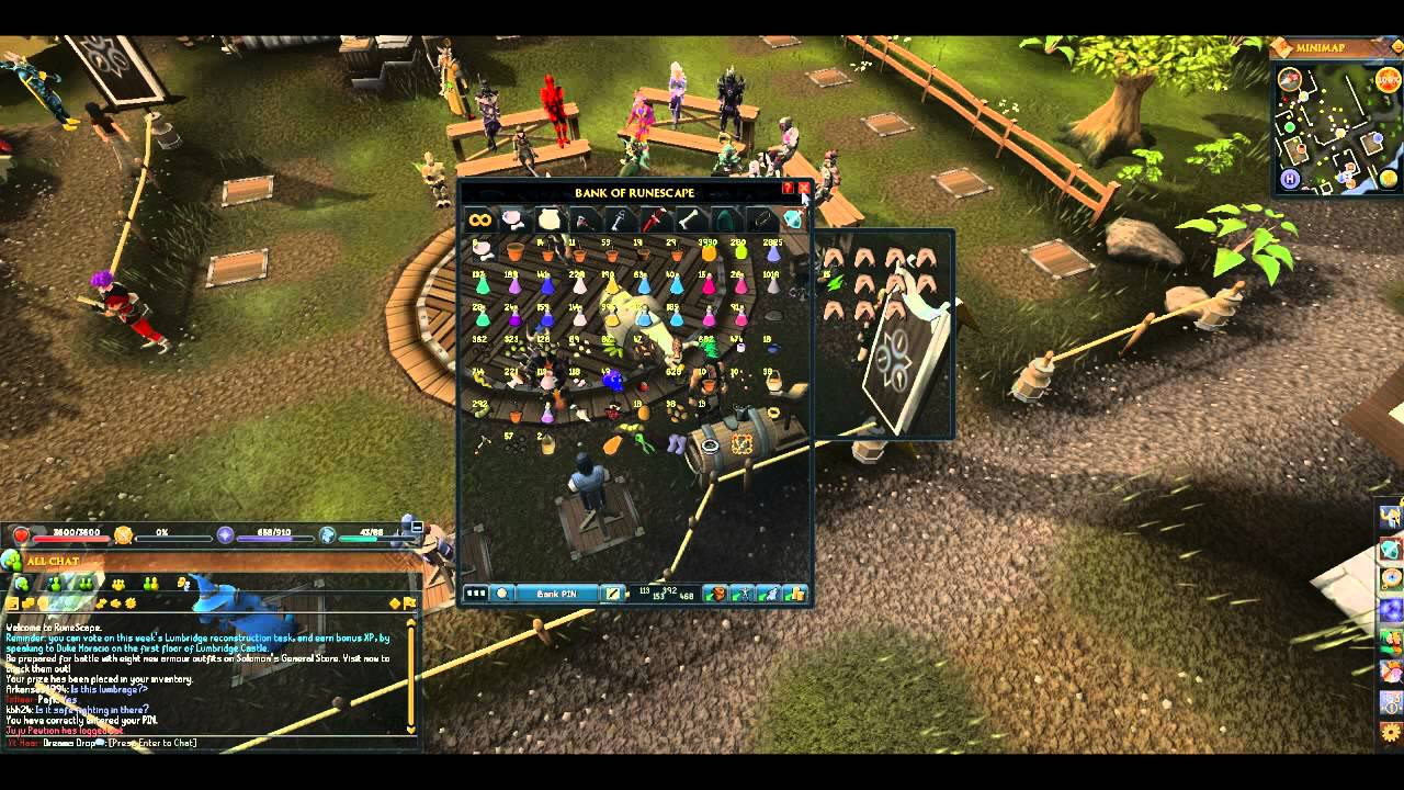 Runescape house layout