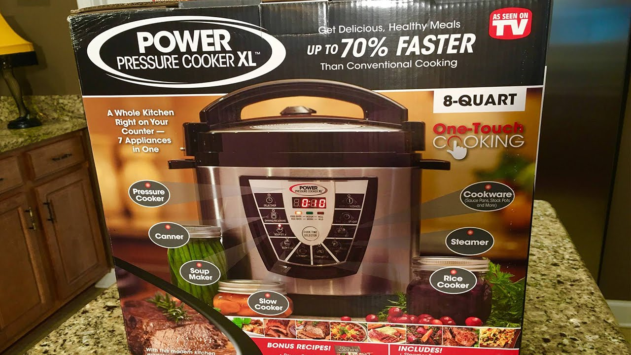 09d0d0f6d3 Power Pressure Cooker XL - AS SEEN ON TV - YouTube