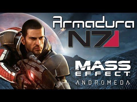 Mass Effect Andromeda: Como tener la Armadura N7 del Comandante Shepard!