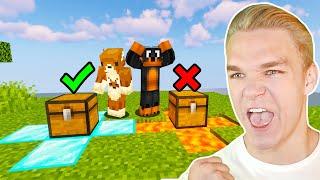 NIE WYBIERZ ZŁEJ SKRZYNI z ABRA w Minecraft!