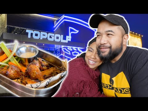 Wife took me to Top Golf for my birthday! Here's our experience & review on the food. Mt. Laurel, NJ