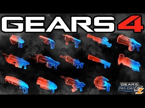 Gears of War 4 - Phantom Weapon Skins & How to Unlock them!