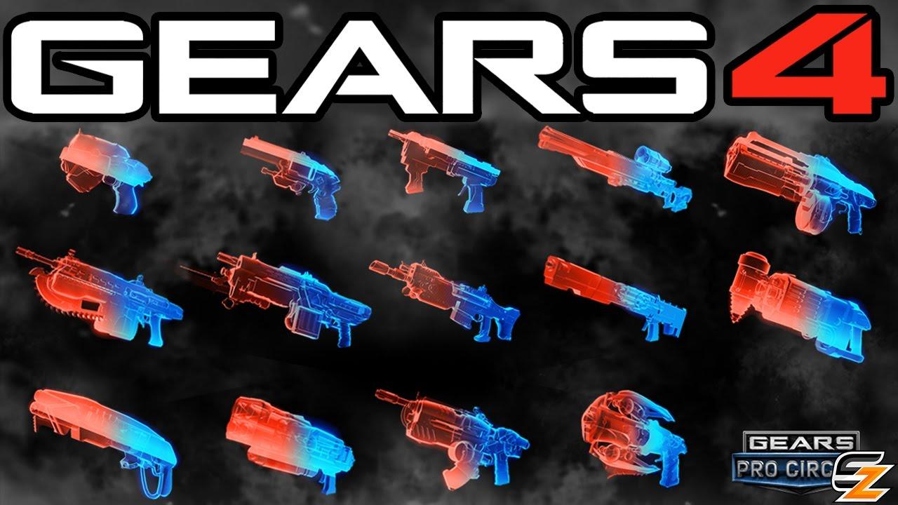 Gears Of War 4 Phantom Weapon Skins Amp How To Unlock Them