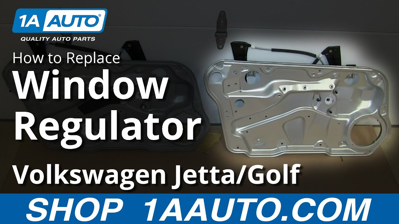 hight resolution of how to install replace front window regulator 1999 06 vw volkwagen jetta golf