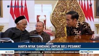 Download Video Penyumbang Dana Pesawat Pertama RI Bertemu Jokowi MP3 3GP MP4