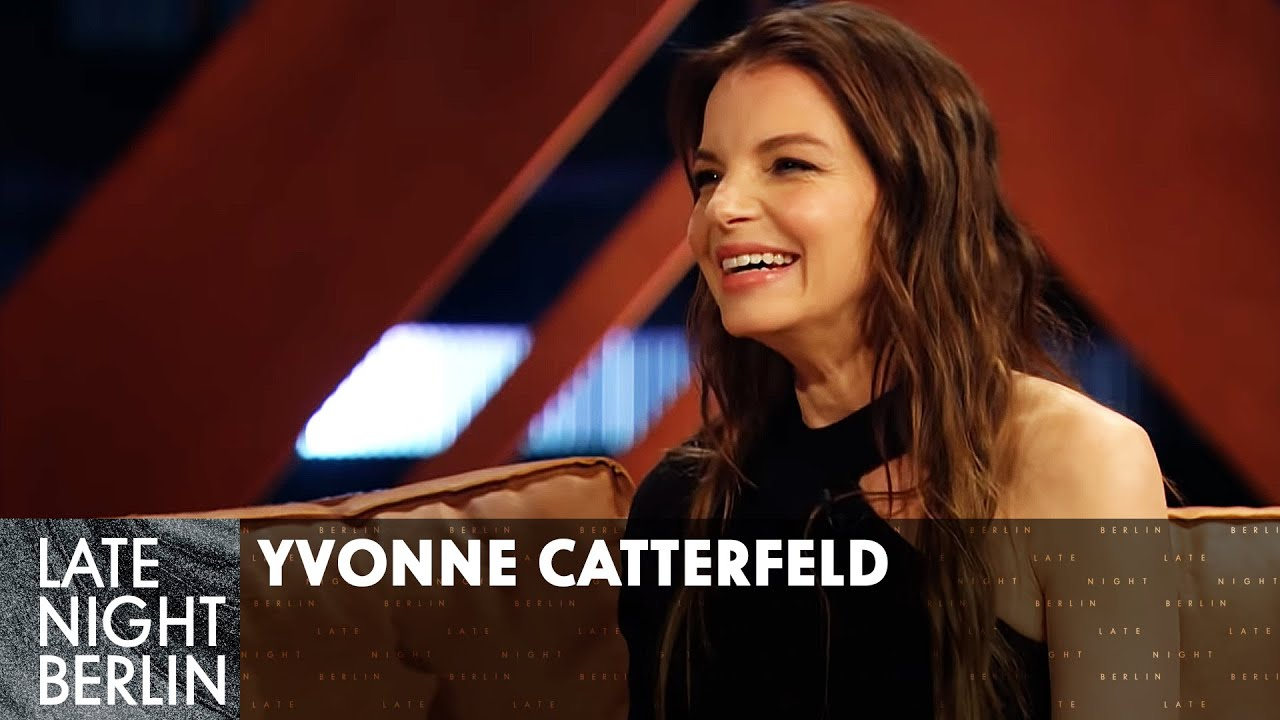 (Fast) Im Lederdress zum Actionstar | Talk mit Yvonne Catterfeld | Late Night Berlin