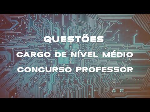 Curso Informática (Cont. Questões TJ-PE 2012 - FCC - Cargos nível médio - Aula 88