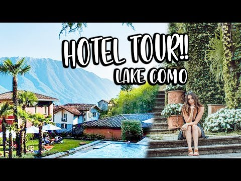 SUPER BOUJIE Hotel In Italy! Room + Hotel Tour In LAKE COMO!!