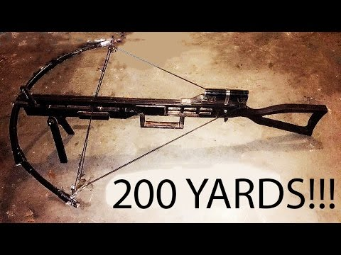 Making A SNIPER CROSSBOW   (Part 1)