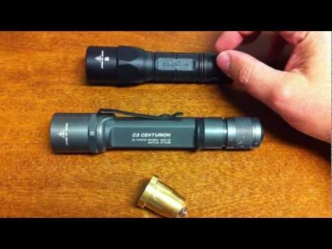 SureFire C3 with Malkoff M91 LED Bulb upgrade Part 1