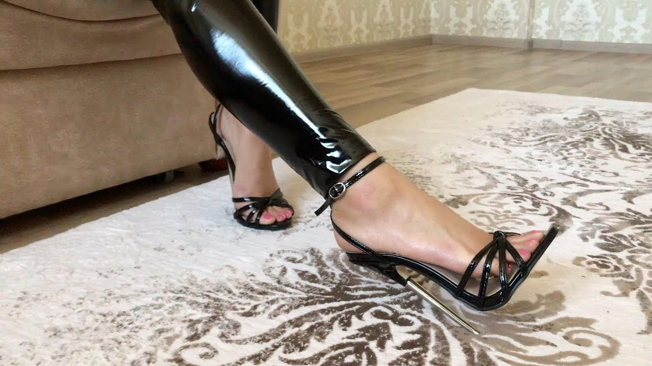 Vinyl Leggings & 18cm High Heels Lookbook