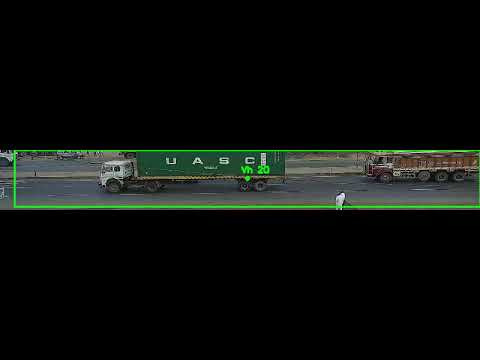 Demo Truck Counting OpenCV, TensorFlow and Centroid Tracking