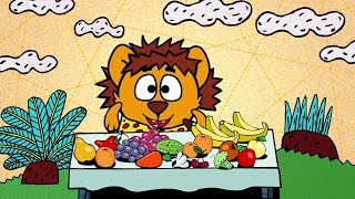 ❗❓Наука для детей - Зачем организму витамины? | Смешарики Пинкод - Исправительное питание