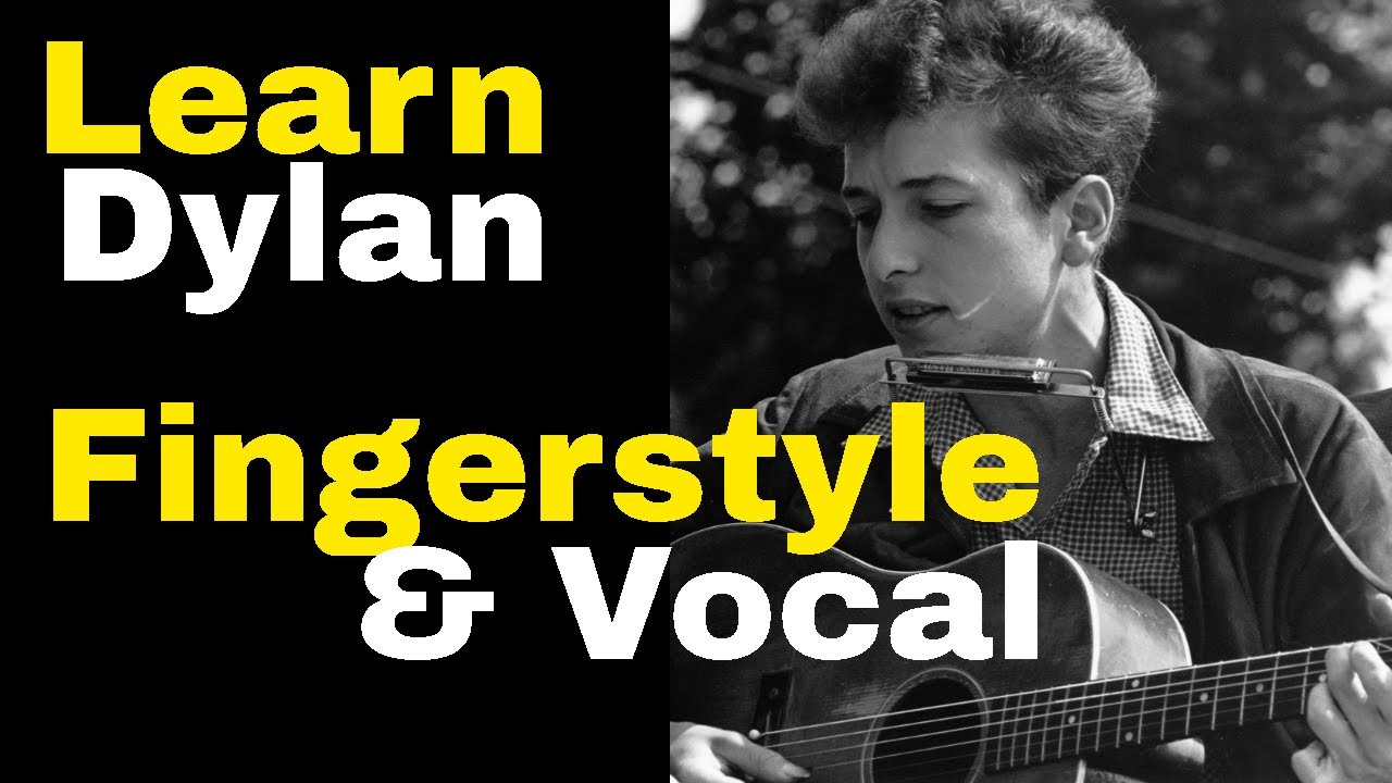 Don't Think Twice Its Alright Easy Lesson- Sing & Play Fingerstyle Guitar