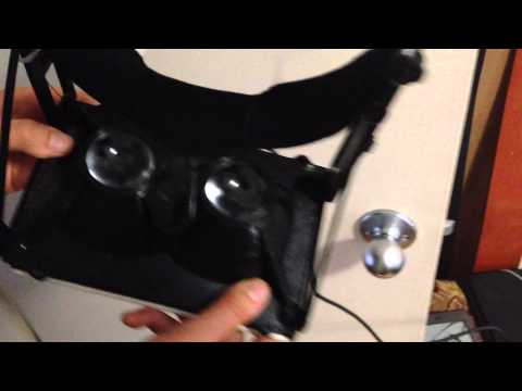 Oculus Rift 3d Printed Head Mounted Display