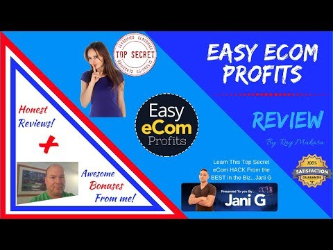 EASY eCom Profits Review: 🚨WARNING!🚨Don't buy EASY eCom Profits until you see my review & BONUSES!