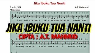 Gambar cover [Musik & Lirik] Jika Ibuku Tua Nanti - Cipta A.T.Mahmud