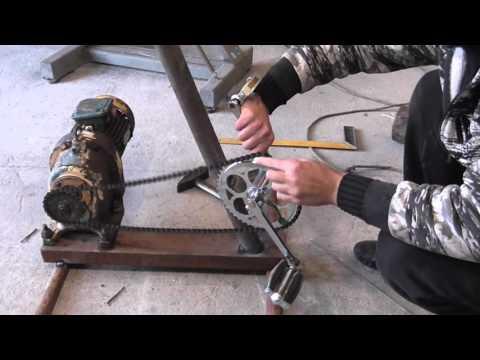 видео: свое электричество. как сделать Вело-Генератор 220-380 вольт